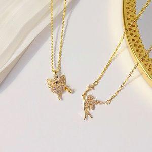 Cute fairy 🧚♀️ 🧚 necklaces